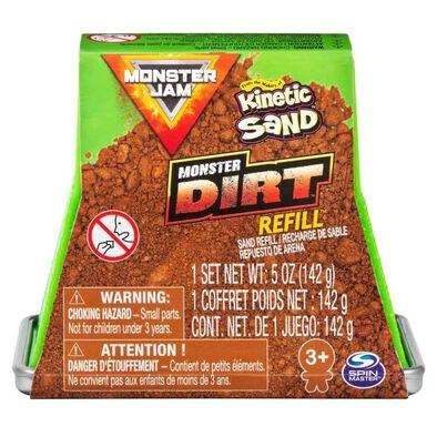 Monster Jam Kinetic Sand Monster Dirt Refill