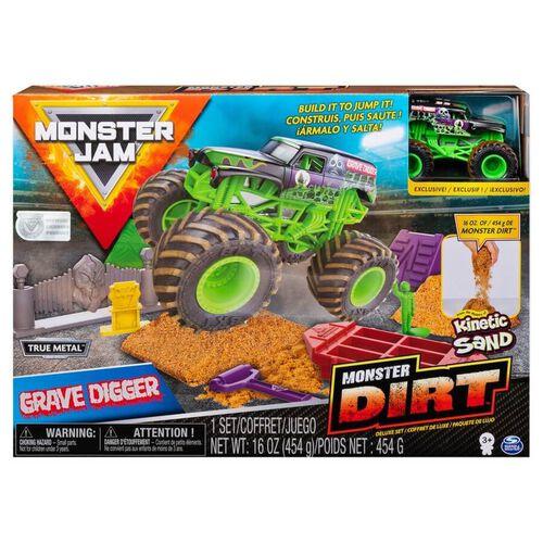 Monster Jam Kinetic Dirt Deluxe Set