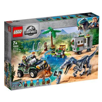 LEGO Jurassic World Baryonyx Face-Off The Treasure Hunt 75935