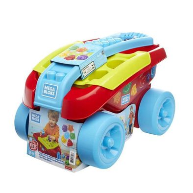 Mega Bloks First Builders Shape Sorting Wagon