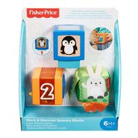 Fisher-Price Stack & Discover Sensory Blocks
