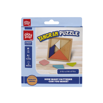 Play Pop Tangram Puzzle Strategy Game