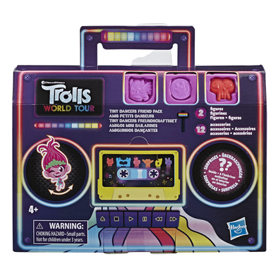 Trolls World Tour Tiny Dancers Friend Pack