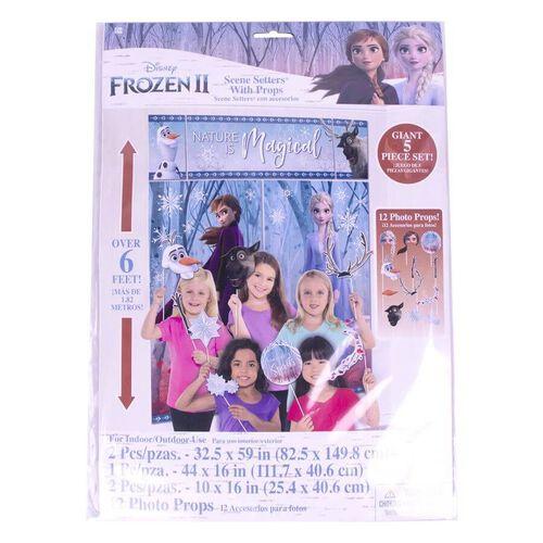 Disney Frozen 2 Scene Setter Props