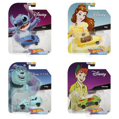 Hot Wheels Disney Character Cars - Assorted
