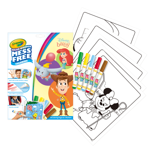 Crayola Color Wonder Foldalope Disney Baby