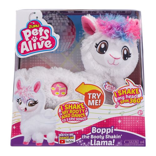 Zuru Pets Alive Boppi The Booty Shakin' Llama