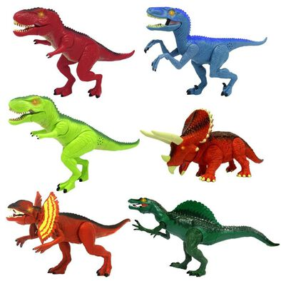 Mighty Megasaur Light And Sound Dinosaurs & Dragons - Assorted