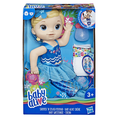 Baby Alive Shimmer 'n Splash Mermaid (Blond Hair)