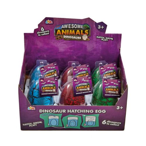 Awesome Animals Dinosaurs Hatching Egg - Assorted