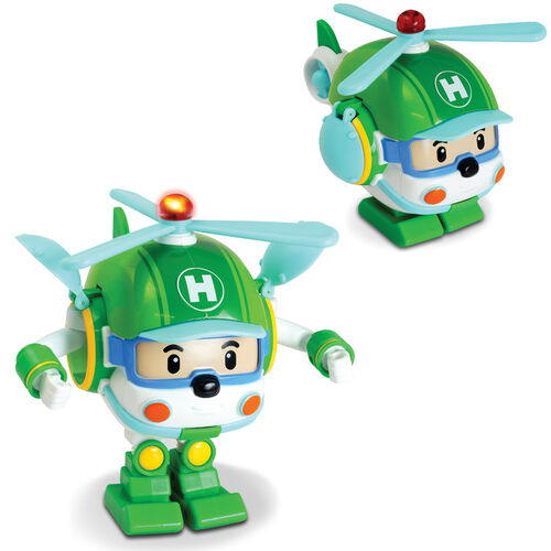 """Robocar Poli 5"""" Transforming With Led Helly"""