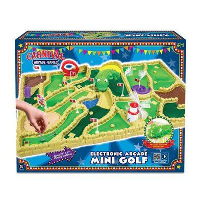 Carnival Electronic Arcade Mini Golf