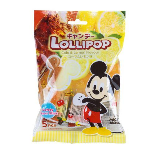 Mickey Lollipop Candy Cola & Lemon 40g