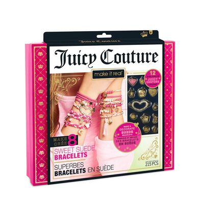 Make It Real Juicy Couture Sweet Suede Bracelets