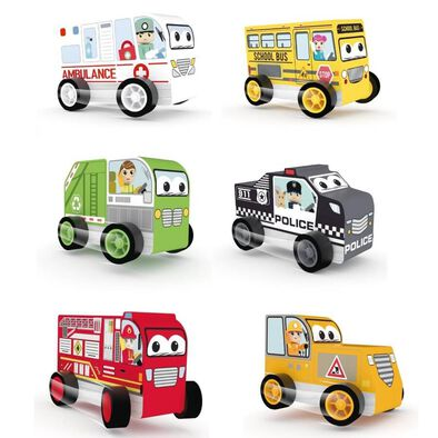 J'adore City Car Set - Assorted