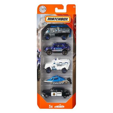 Matchbox Police 5-Pack