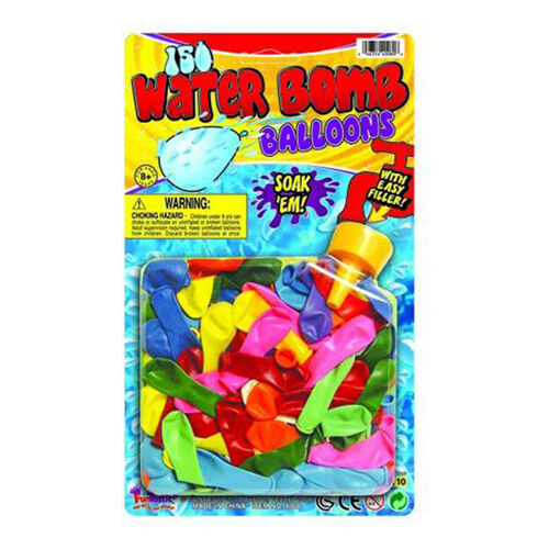 Funtastic 150 Water Bomb Balloons