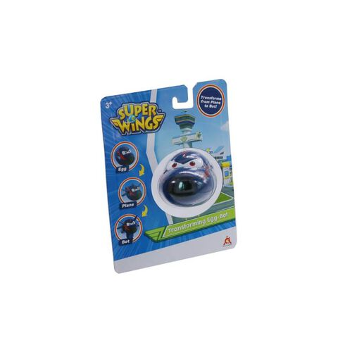 Super Wings Transforming Egg-Bot Chace