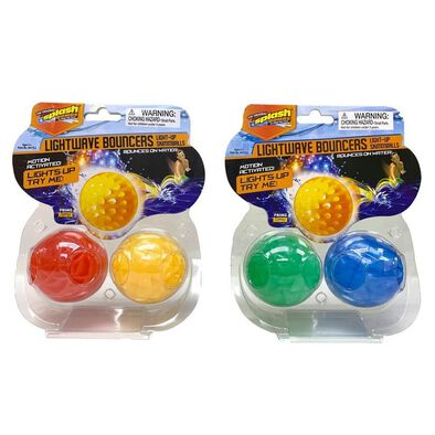Diving Masters Lightwave Bouncers Light-Up Skimmballs - Assorted