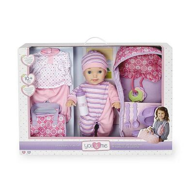 You & Me 40Cm Lovely Baby Deluxe Set