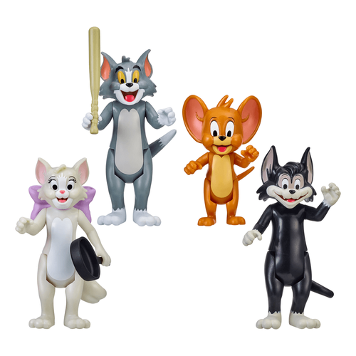 Tom & Jerry 3 Inch Figures 4 Pack