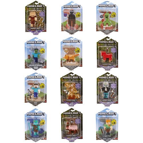 Minecraft 3.25 Inch Core Figures - Assorted