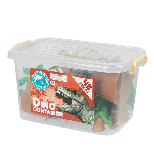World Animal Collection Dinosaurs Container