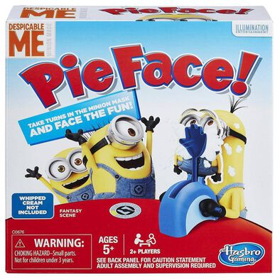 Despicable Me Minions Pie Face