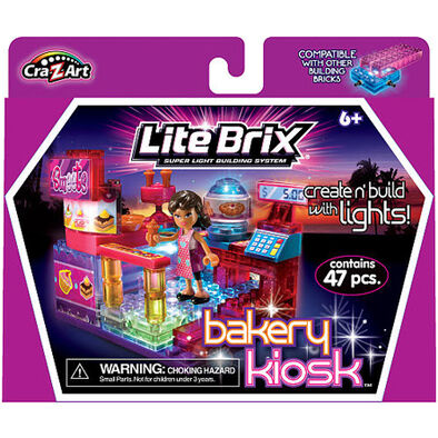Cra-Z-Art Lite Brix Girls Bakery Kiosk