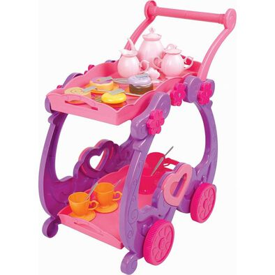 Just Like Home Tea Trolley Playset