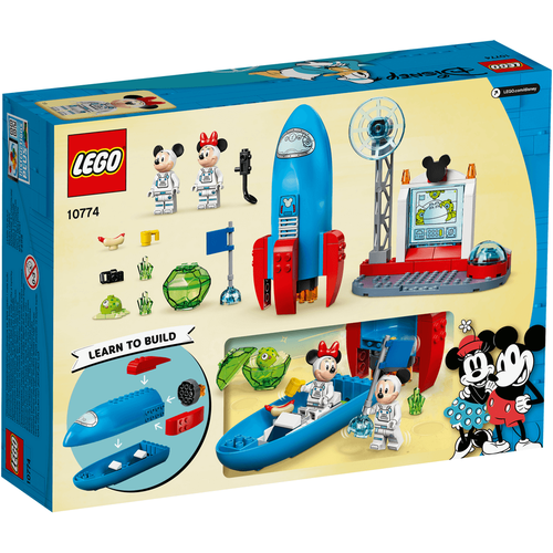 LEGO Mickey And Friends Mickey Mouse & Minnie Mouse's Space Rock 10774
