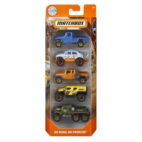 Matchbox 5-Pack Vehicle - Assorted
