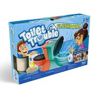 Toilet Trouble Flush Down