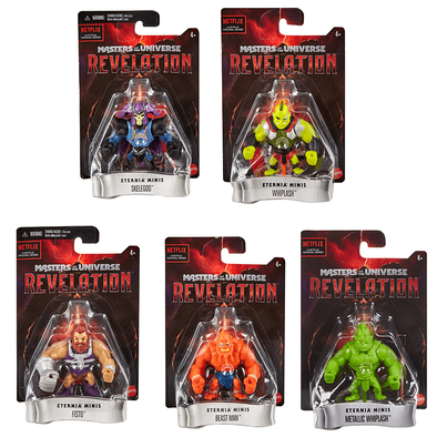 Masters Of The Universe Revelation Eternia Minis Blister Card - Assorted