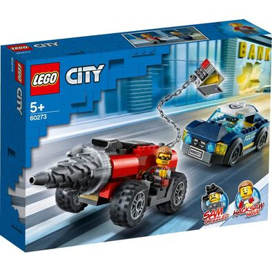 LEGO City Police Elite Police Driller Chase 60273