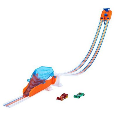 Hot Wheels Drop Race Jump Track Set