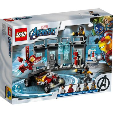 LEGO Marvel Super Heroes Iron Man Armoury 76167