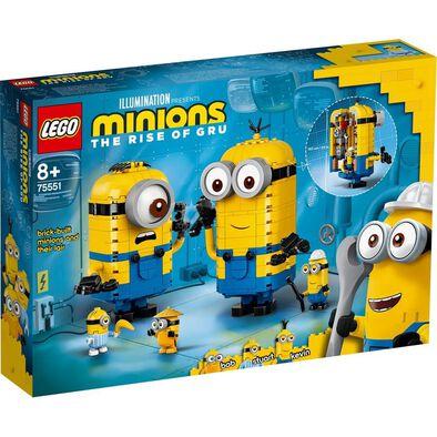 LEGO Minions Brick-built Minions and Their Lair 75551