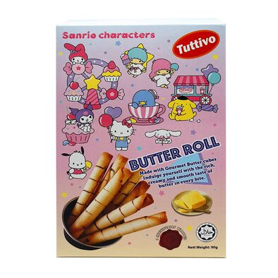 Sanrio Character Butter Roll 90g