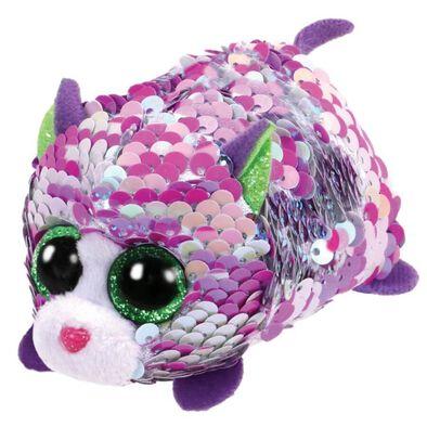 Teeny TYS Lilac Sequin Iridescent Cat