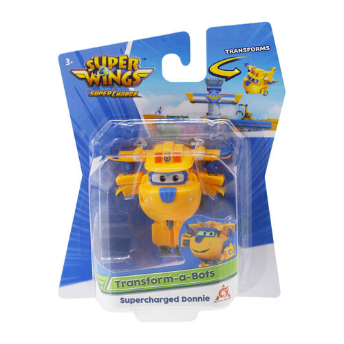 Super Wings Transform-A-Bots Supercharged Donnie