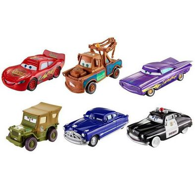 Disney Pixar Cars 1:55 Action Drivers Singles - Assorted
