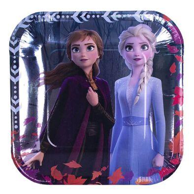 Disney Frozen 2 9 Inch Square Plate
