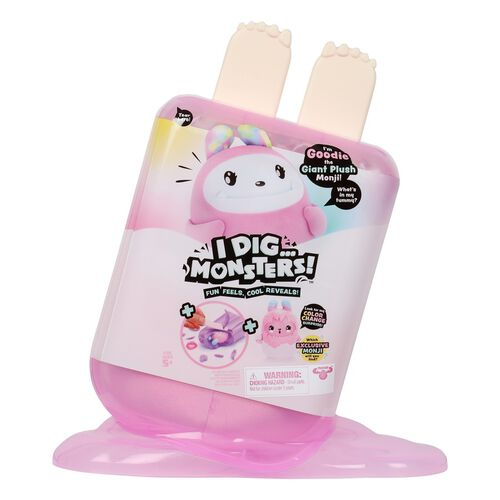 I Dig Monsters Jumbo Popsicle Pack Treats The Giant Plush Monji - Assorted