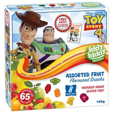 Toy Story Assorted Fruit Flavoured Snacks