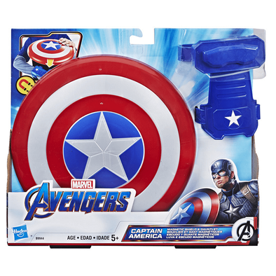 Marvel Avengers Captain America Magnetic Shield And Gauntlet