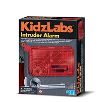 4M KidzLabs Spy Science Intruder Alarm