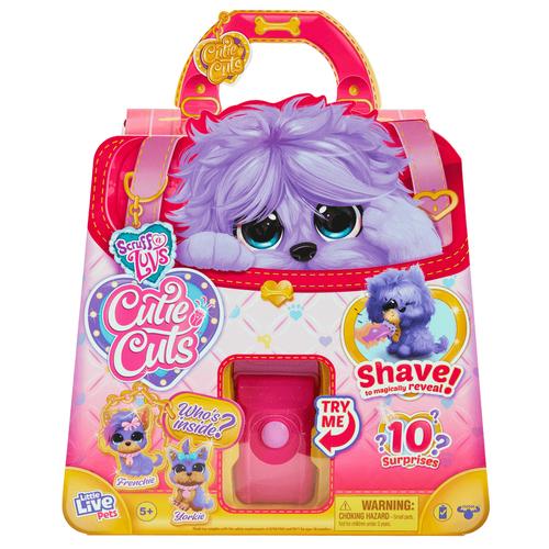 Little Scruff-A-Luvs Cutie Cuts Purple