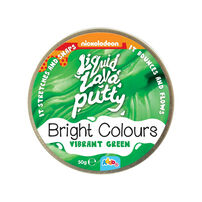 Nickelodeon Liquid Lava Putty Bright Colours - Assorted