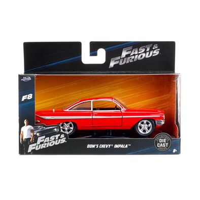 Die Cast Collected Series Fast & Furious 1:32 1961 Dom's Chevy Impala